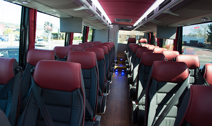 Luxury Coach 40 Interior
