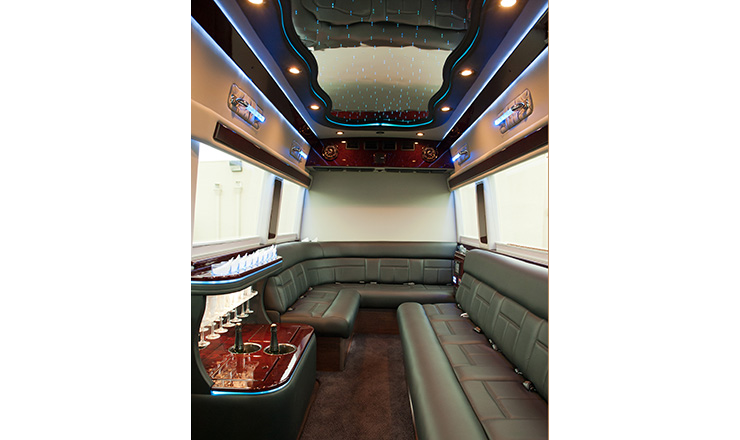 Mercedes Sprinter Limousine 11 Interior
