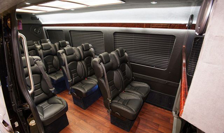 Mercedes sprinter shuttle 12 passenger napa valley tours for 2017 mercedes benz sprinter seating capacity 12